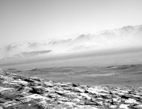 Curiosity Has Just Sent Back a Bleak Image of Its Lonely View on Mars